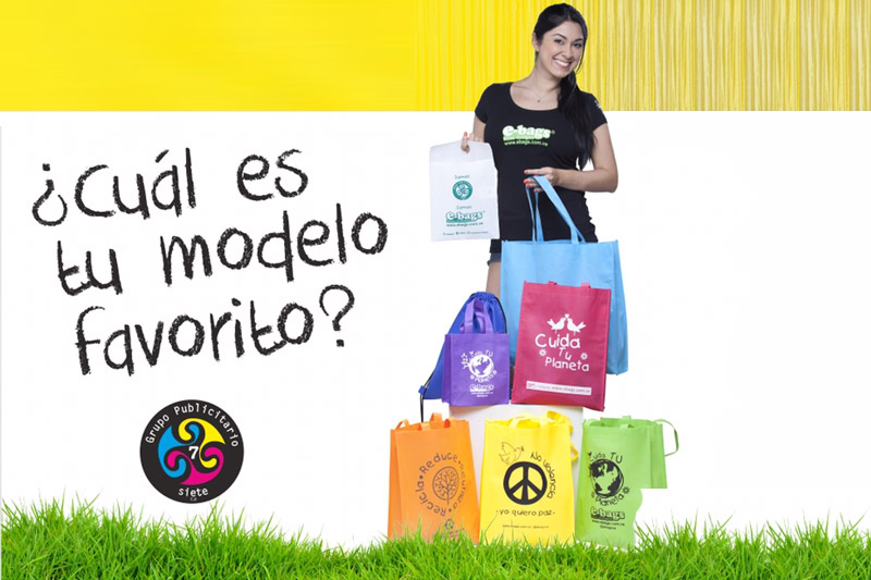 bolsas ecologicas ebags publicidad