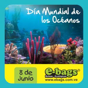 Día Mundial de Los Océanos bolsas ecologicas ebags publicidad