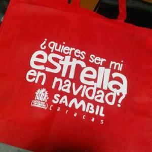 E-Bags & Sambil bolsas ecologicas ebags publicidad