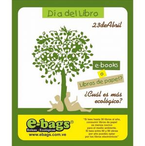 Día del Libro 23 de Abril bolsas ecologicas ebags publicidad
